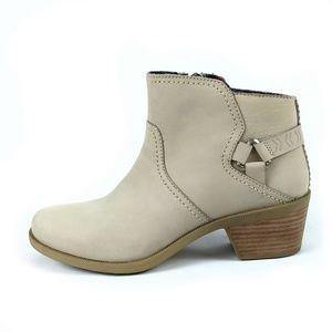 Teva 'Foxy' Taupe Ankle Boots Size 8.5